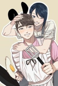 Hubby Bunny Adult Webtoon Manhwa Cover