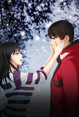 The Snow Adult Webtoon background