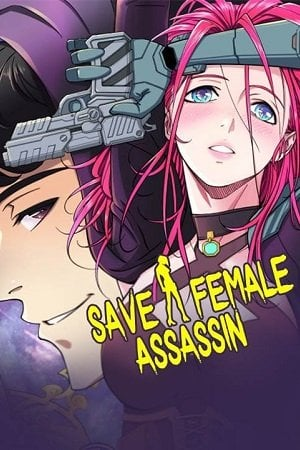 Save A Female Assassin Adult Webtoon Manhwa Cover