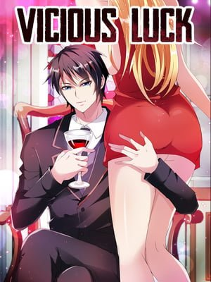 Vicious Luck Adult Webtoon Manhwa Cover